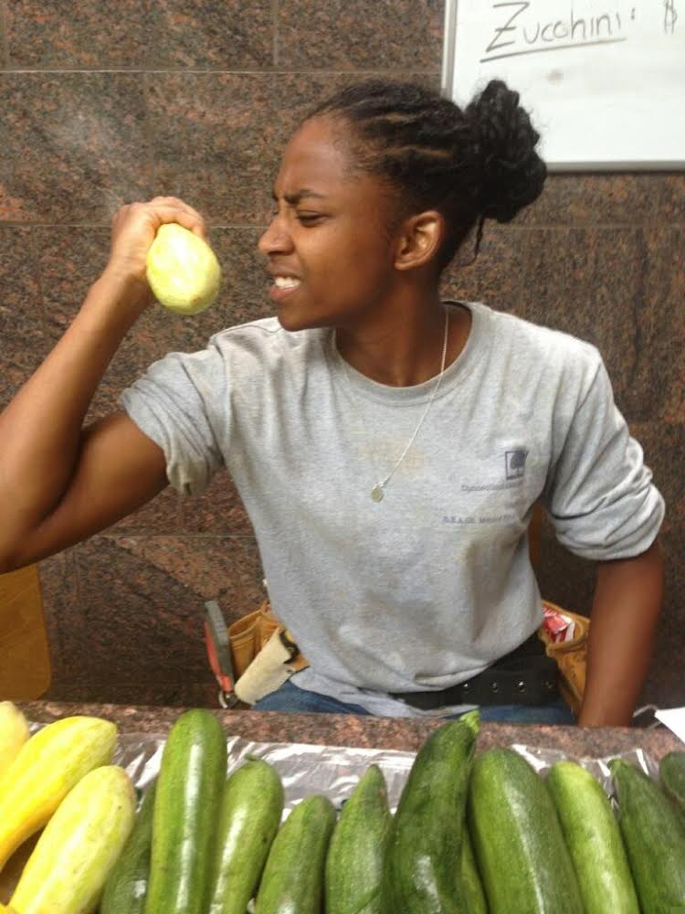Christine Roundtree '15 Sprout Garden blog post