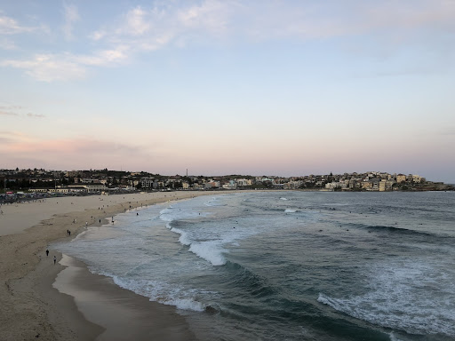 View of the beach in Sydney