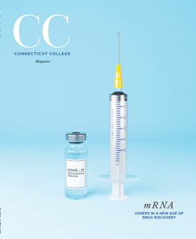 Image of bottle of COVID-19 vaccination