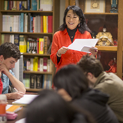 Senior Lecturer in Japanese Hisae Kobayashi has been named the 2014 Connecticut Professor of the Year.
