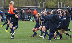 Women's soccer captures first conference title; now headed to NCAAs