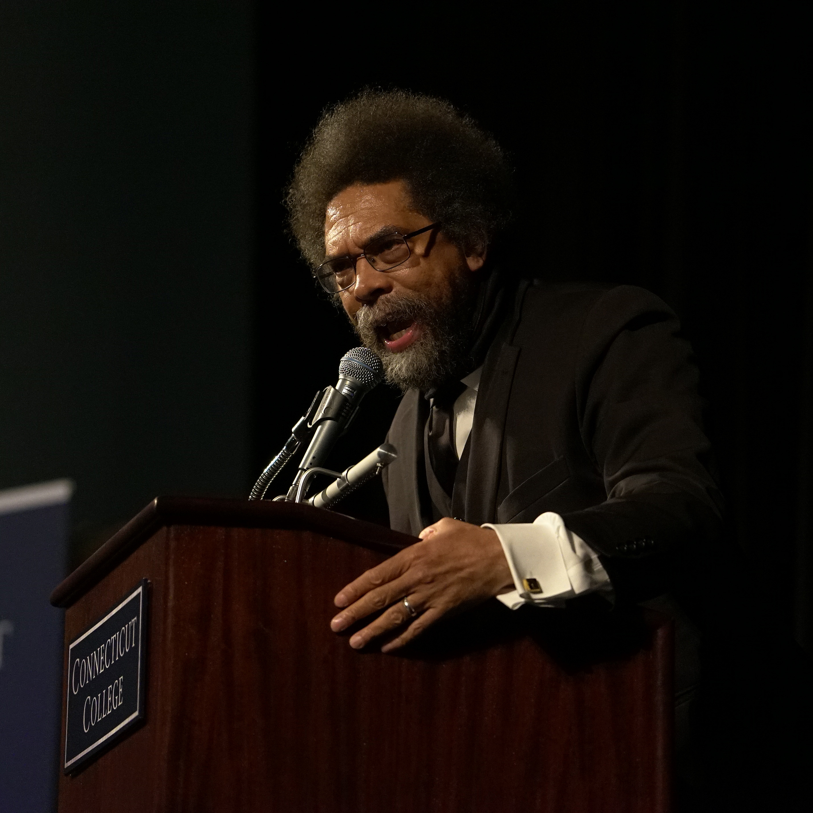 Cornel West addressed the campus community 10 years after presenting the keynote address at the CCSRE's inaugural event.
