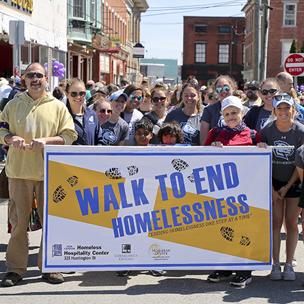 Scenes from the 10th annual Walk to End Homelessness