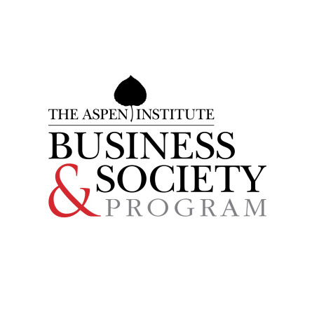 The logo for the Aspen Institute Business and Society Program