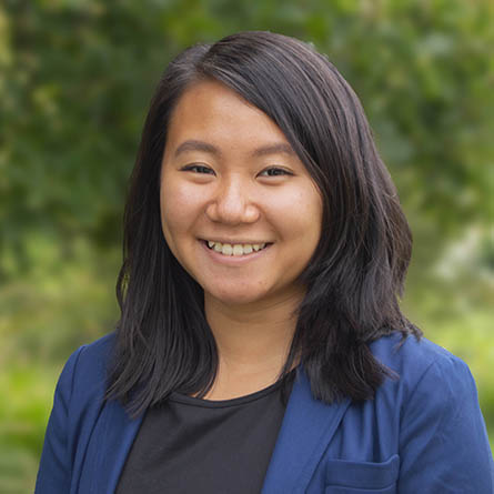 Lan-Huong Nguyen '19 won a $10,000 Davis Projects for Peace grant to create a hiking and walking trail and construct a wooden pavilion on one of the oldest continuously occupied Native American reservations in the U.S.
