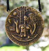 The Connecticut College Medal is the highest honor the College can confer.